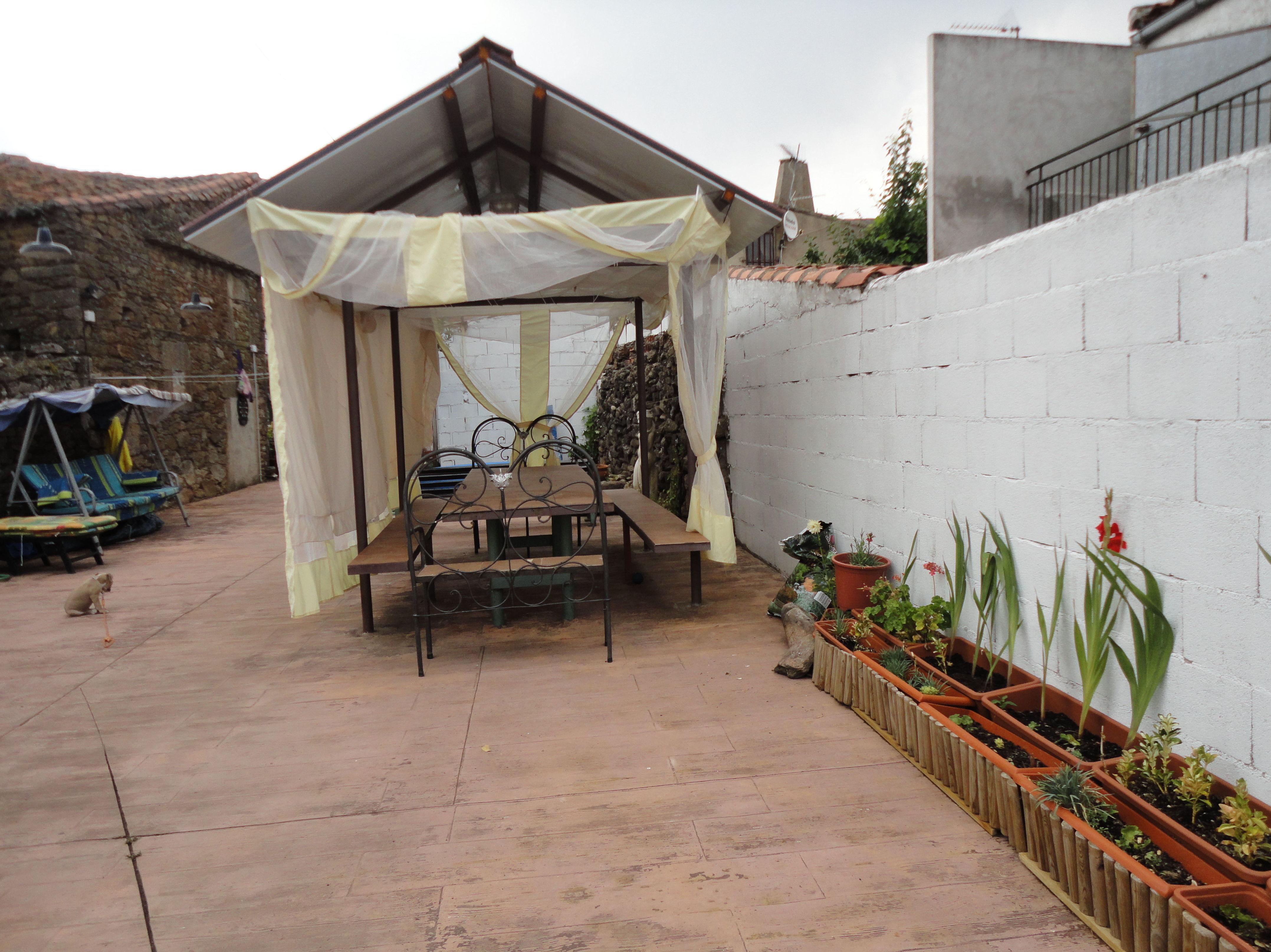 casa rural con terraza Salamanca