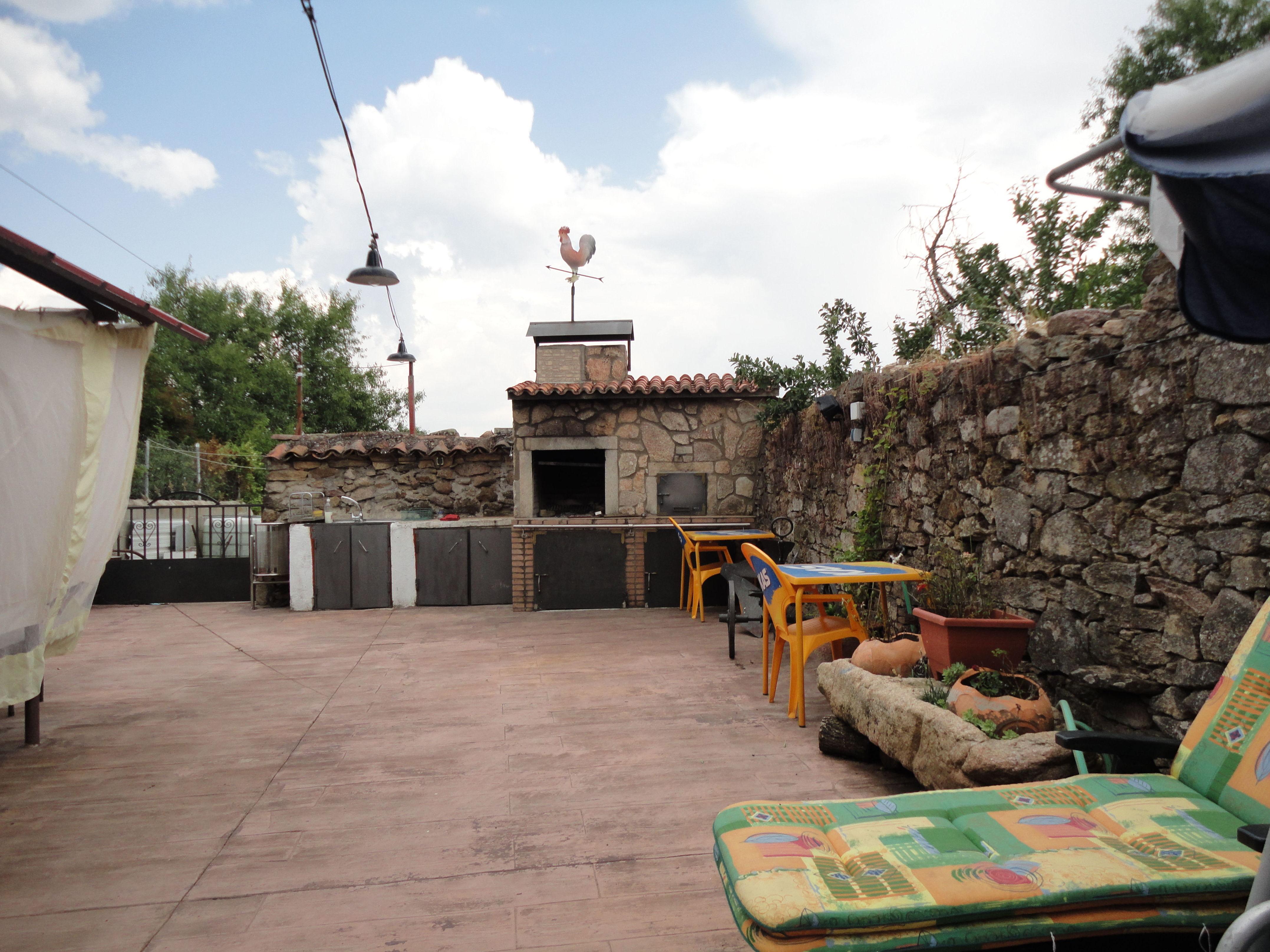casa rural con barbacoa Salamanca