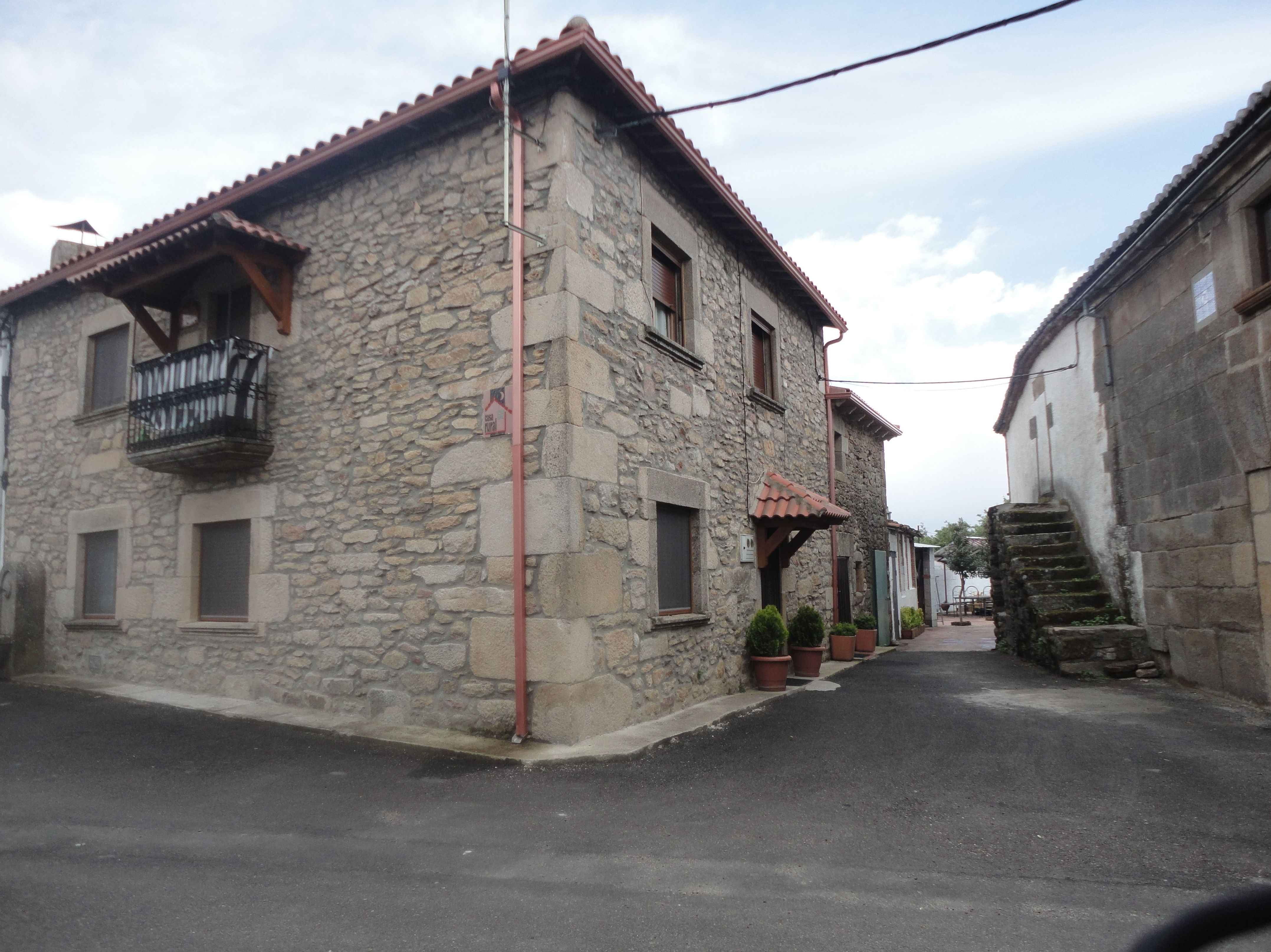 casa rural en pereña