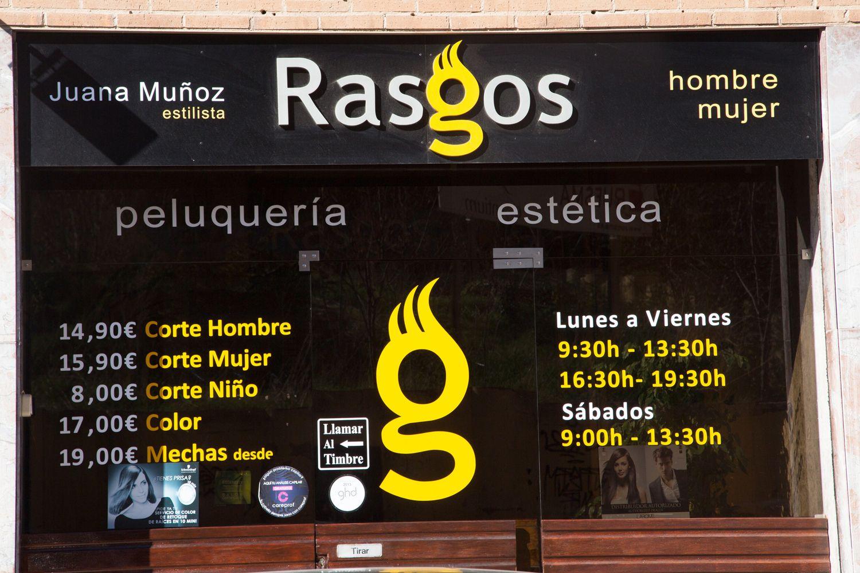 Fachada de nuestra peluquería en Cuenca