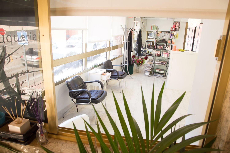 Vista del interior de nuestra peluquería en Cuenca