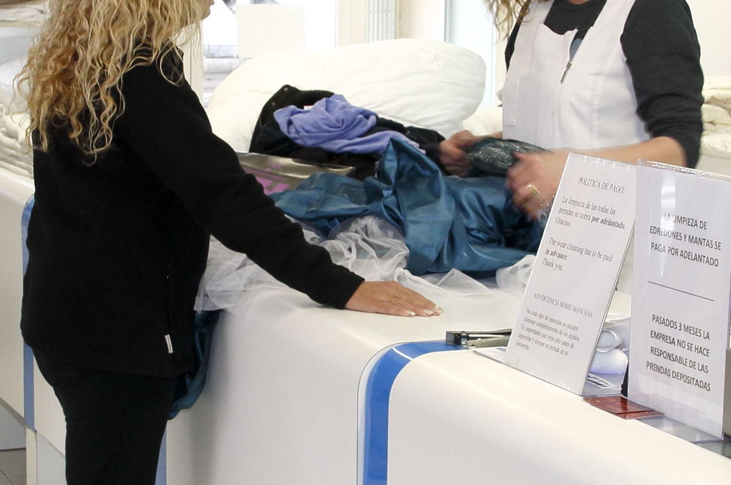Limpieza de ropa de cama en Eivissa Baleares