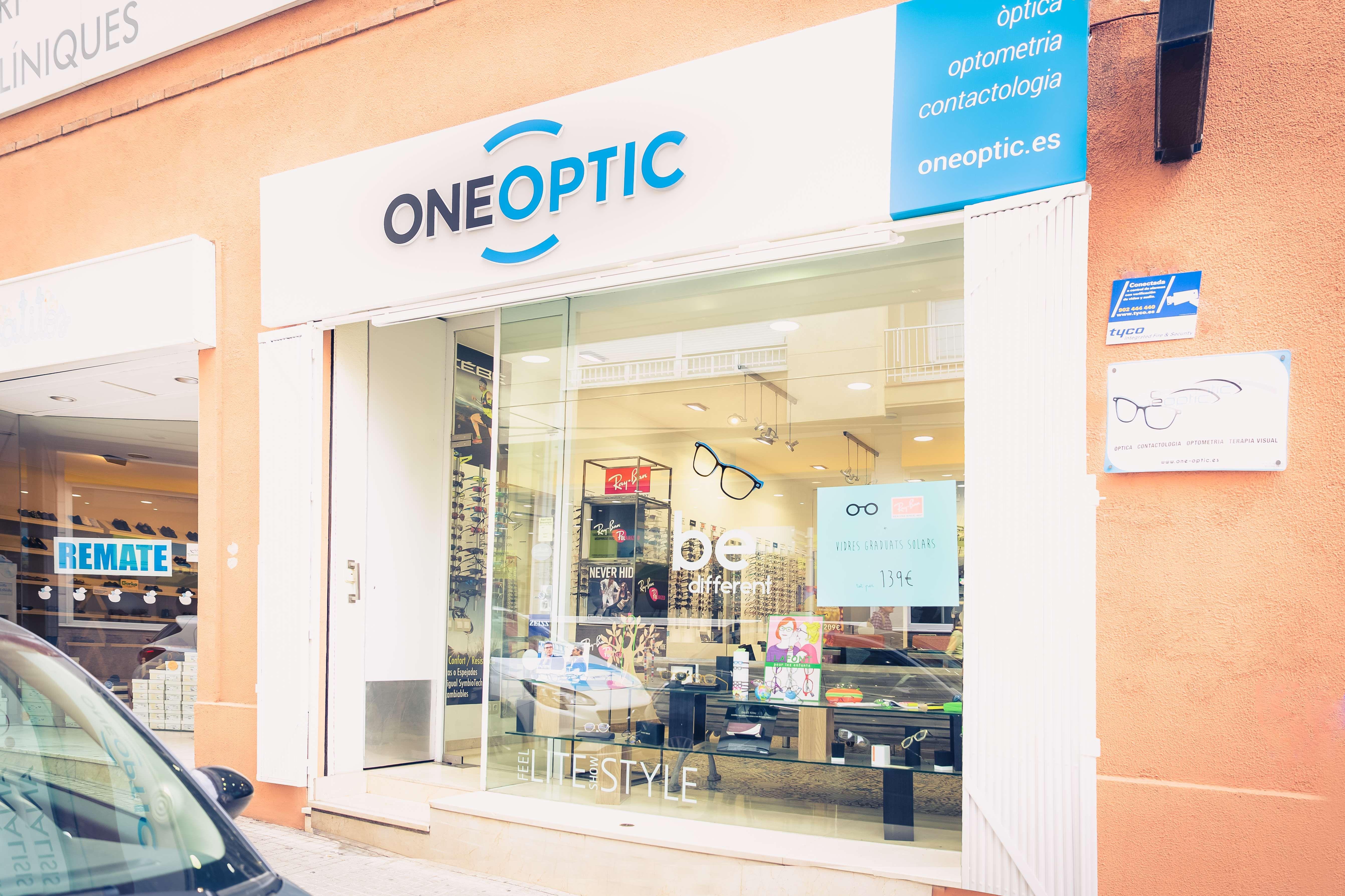 Fachada de la óptica One Optic