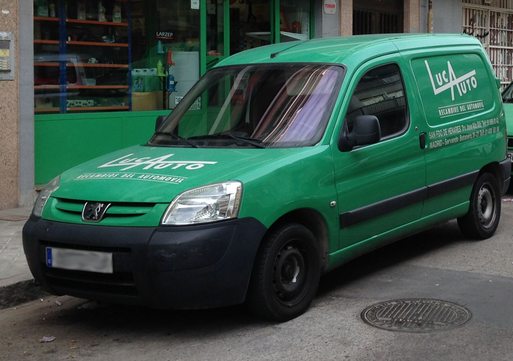 Repuestos del automóvil en Madrid Centro