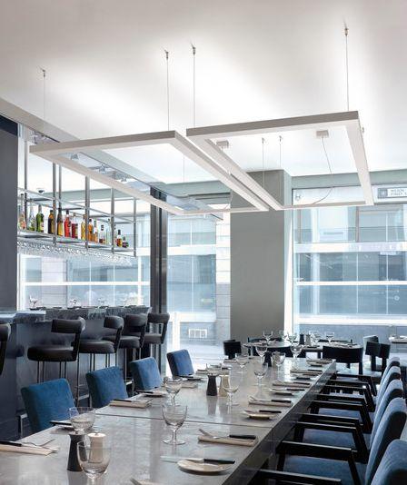 iluminacion restaurante.