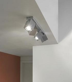 2.2FOCO MINIMALISTA CUADRADO LED.FABRICACION PROPIA (mas fotos): PRODUCTOS de El Búho | Iluminación en Barcelona