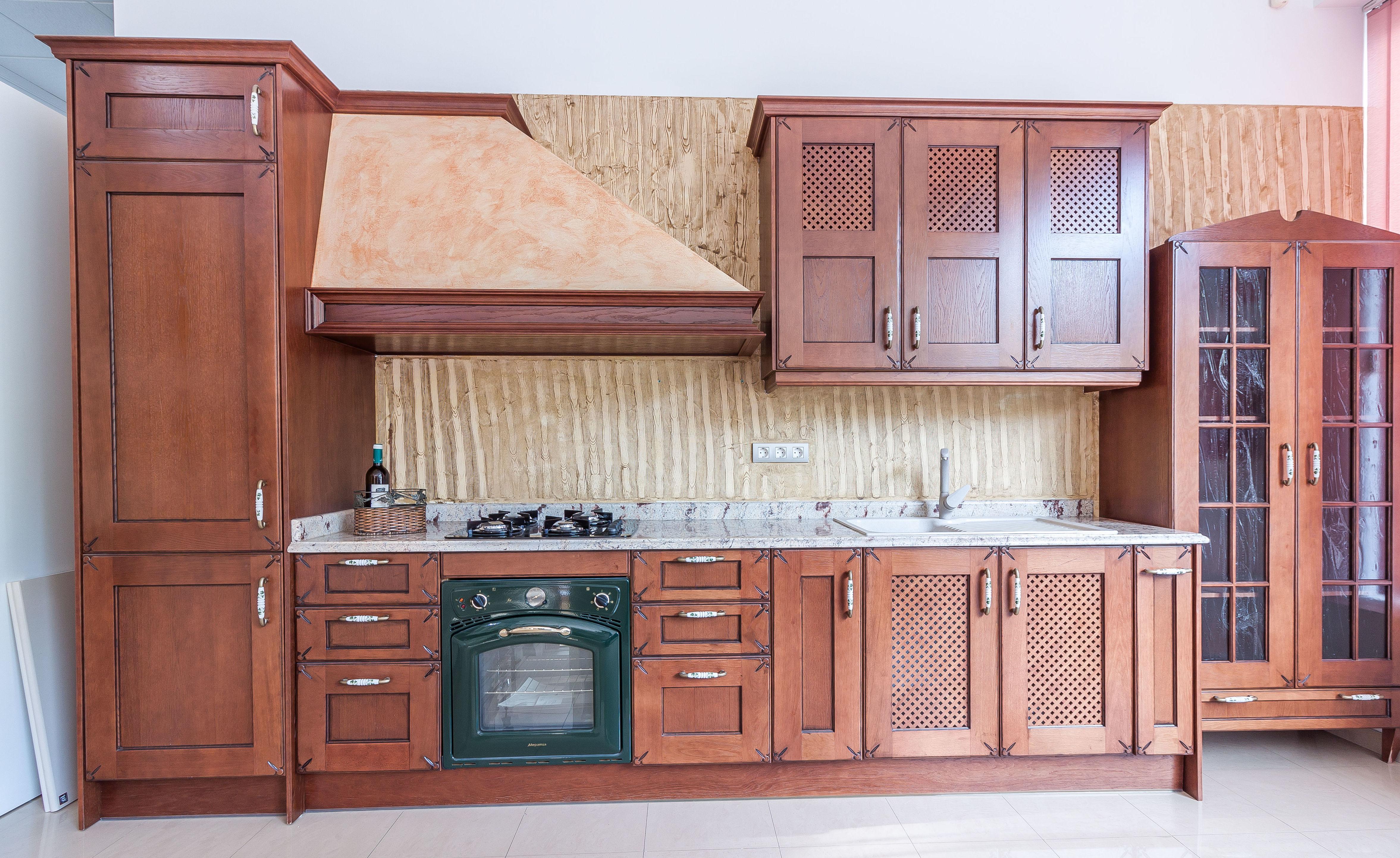 Cocinas de madera a medida en Mazarrón