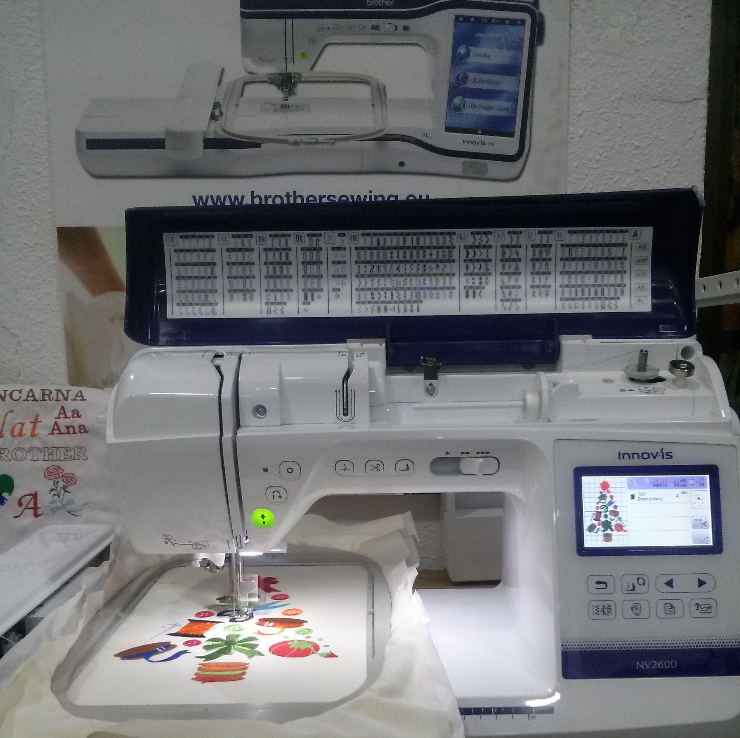 Maquinas de bordar y coser BROTHER: Servicios y Productos de Máquinas de Coser Vicente Ruano