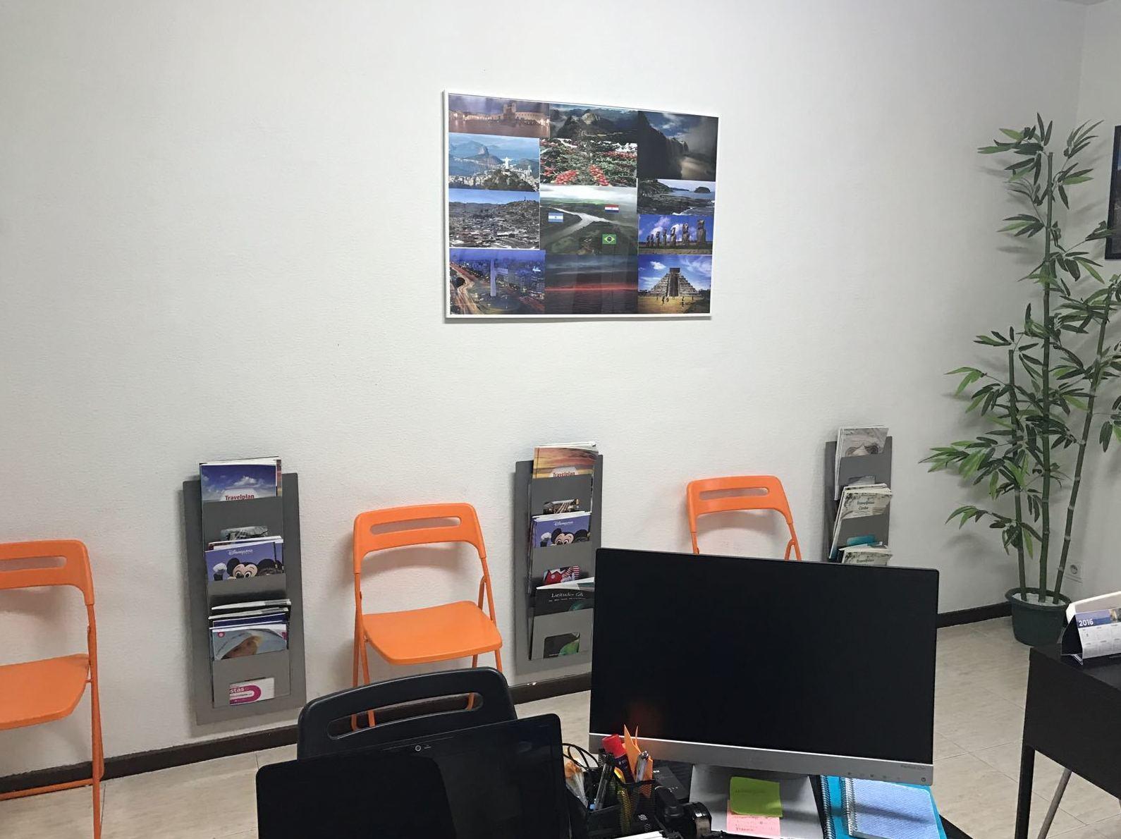 Interior de nuestra agencia de viajes