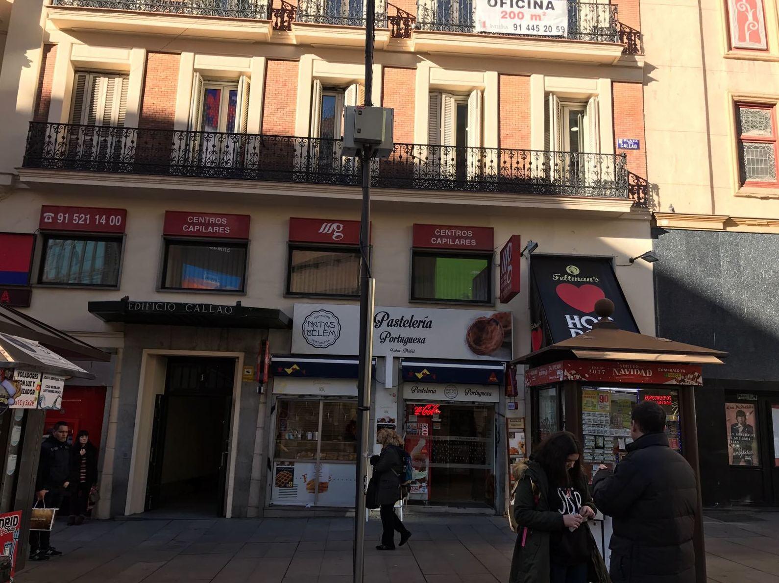 Agencia de viajes en Callao (Madrid)