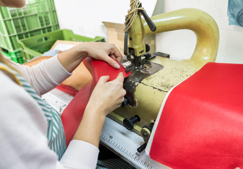 Fábrica de bolsos de cuero en Madrid centro