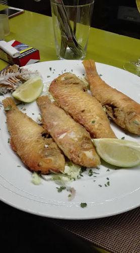 Especialidad en pescado fresco