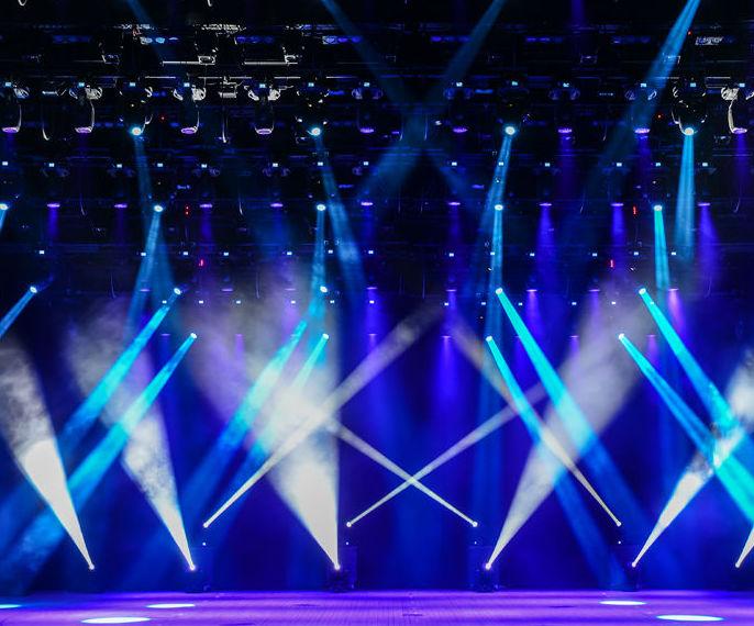 Iluminación de eventos: Servicios  de IS Sound, S.C