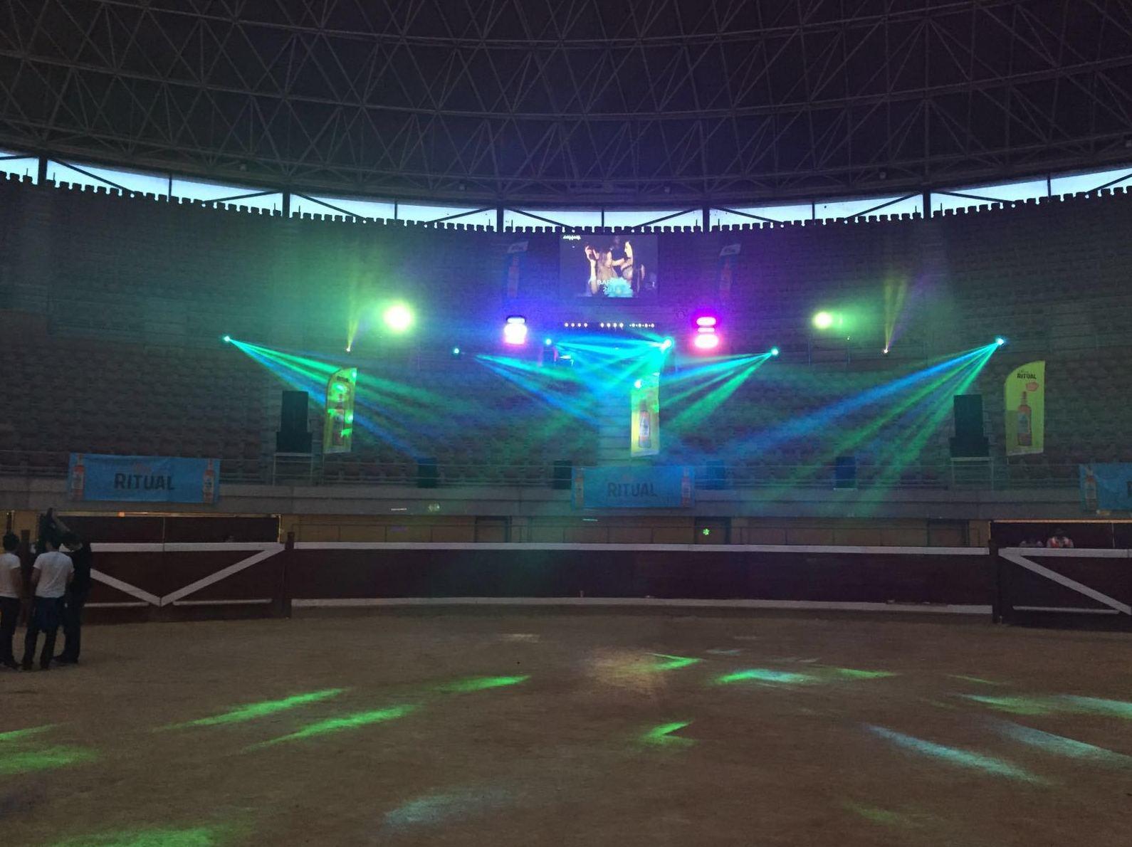 Iluminación para concierto