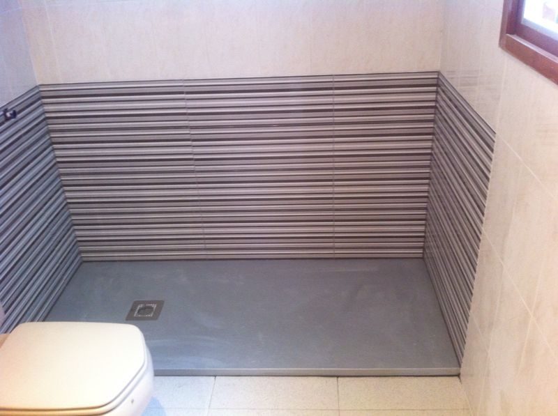 Cambio de ba era por plato de ducha servicios de cuin factory - Banera para plato de ducha ...
