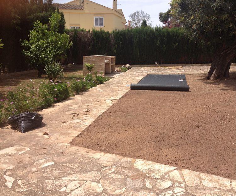 Mantenimiento de jardines en Naquera