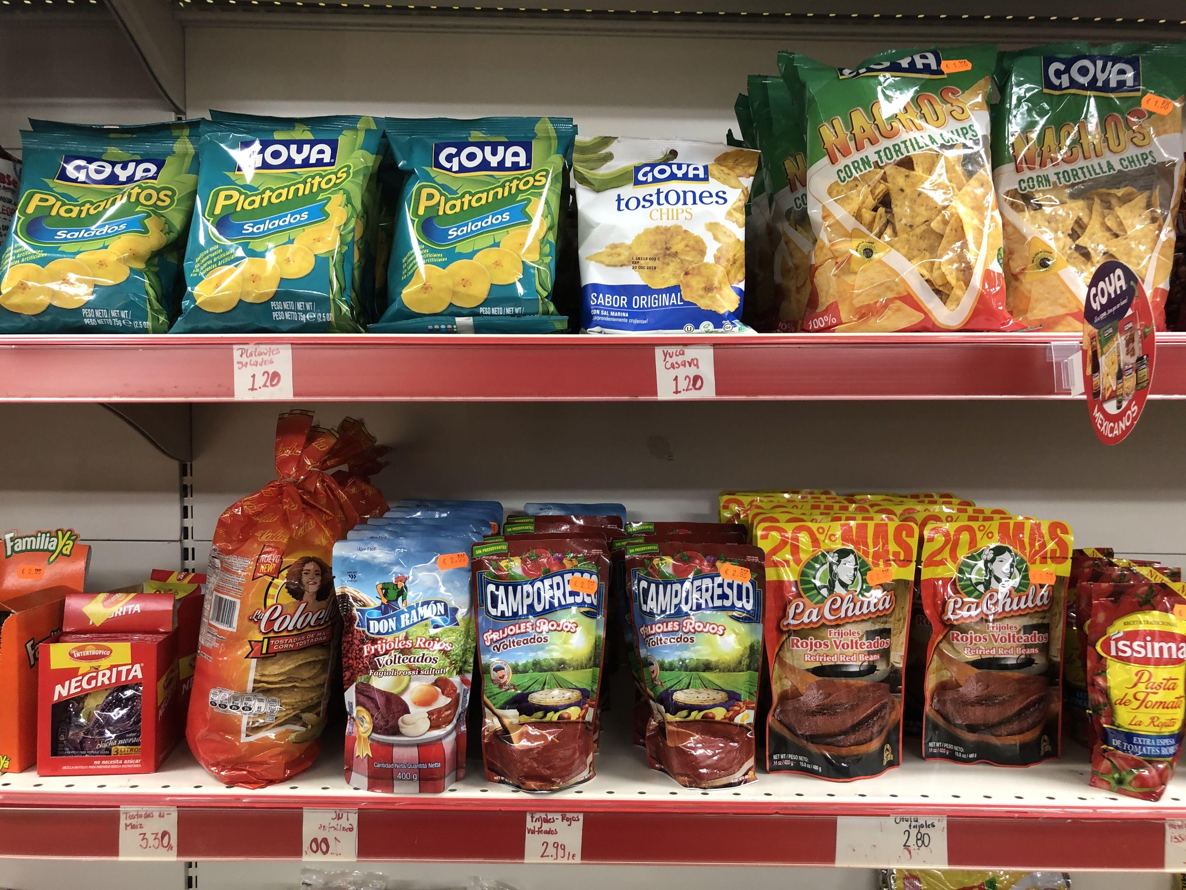 Tienda de productos latinos  en Sants Barcelona