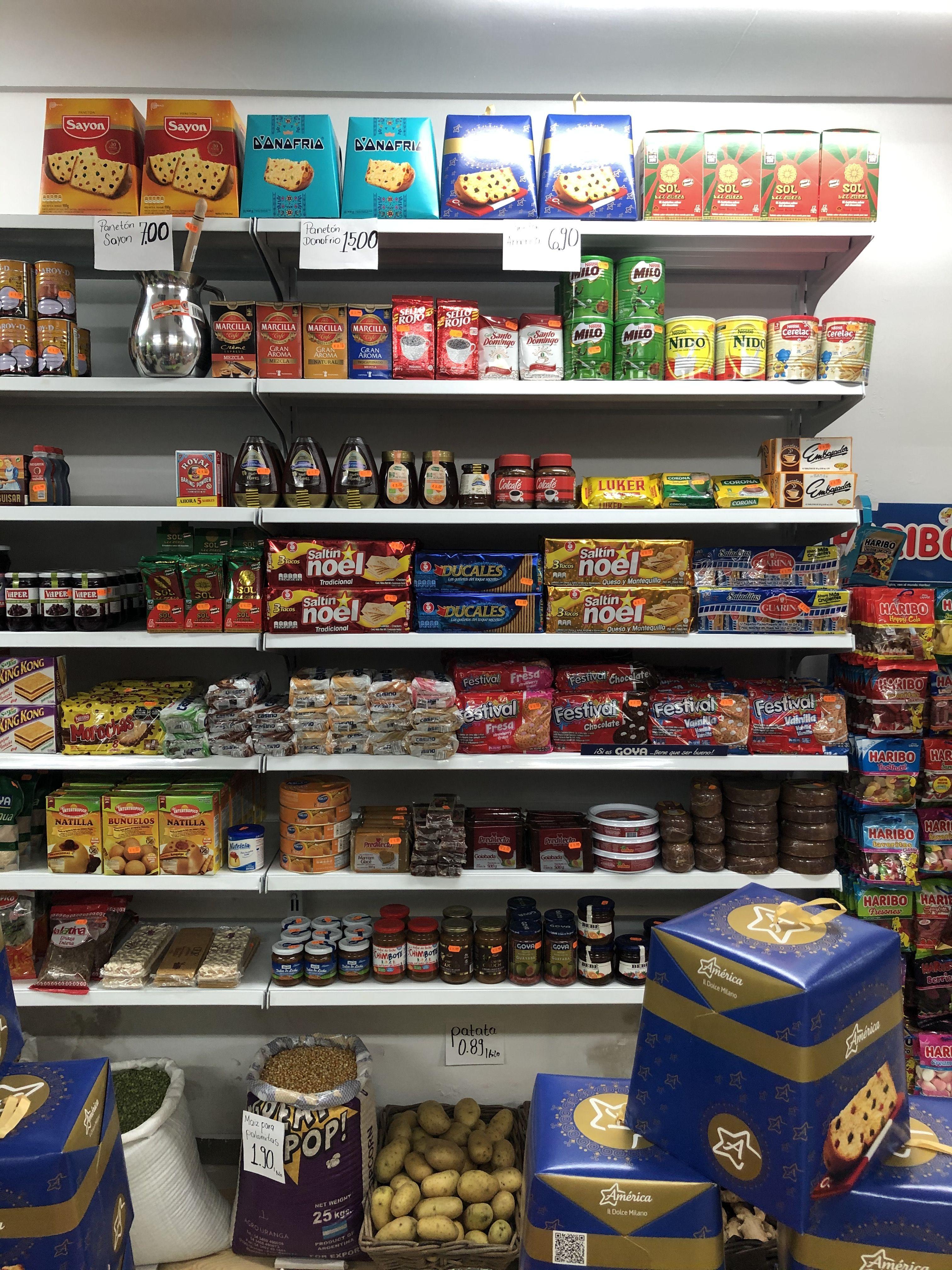 Distribuidores productos latinosLes Corts Barcelona
