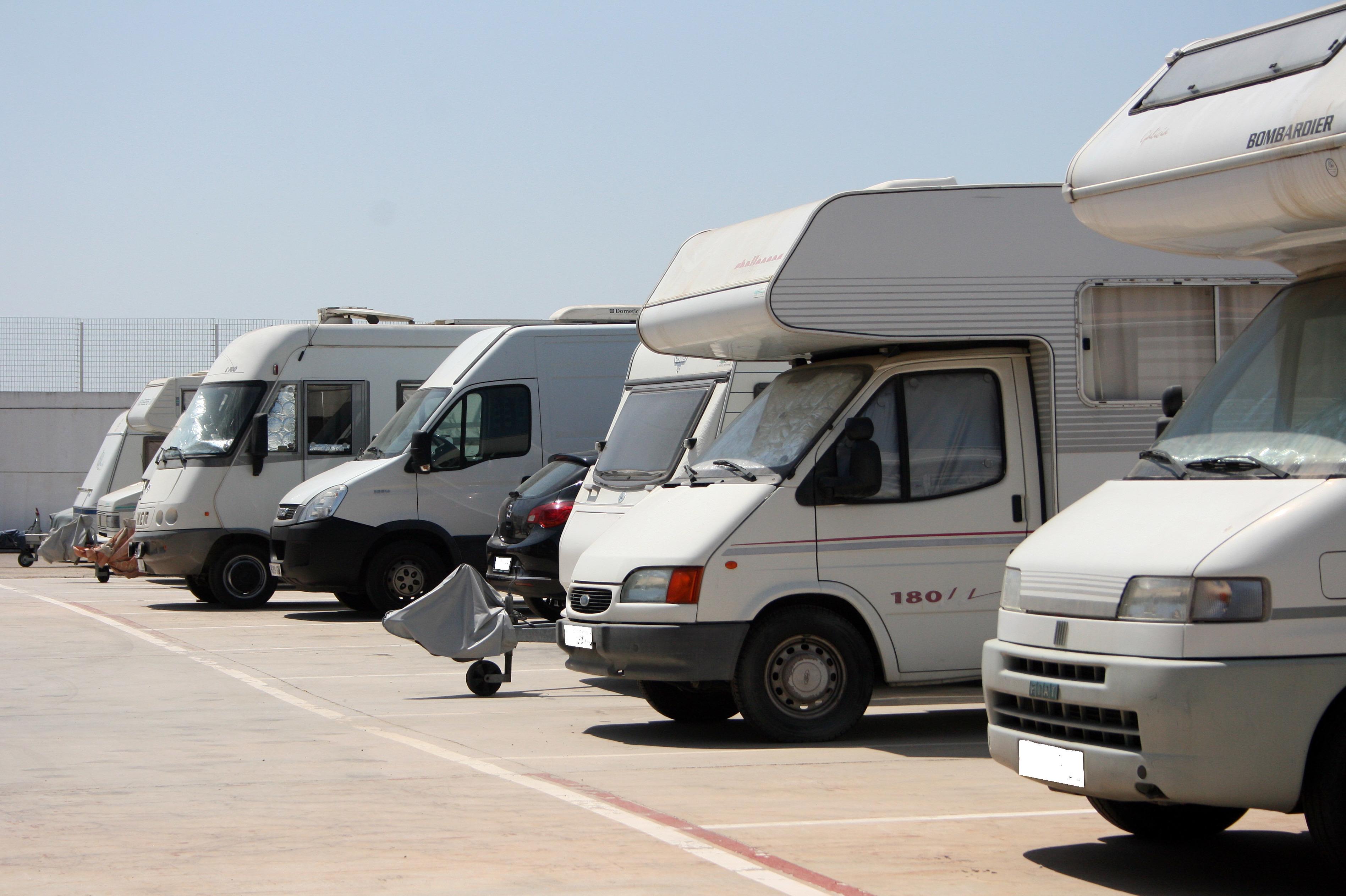 Parking de autocaravanas