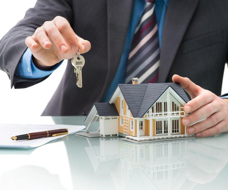Agencia inmobiliaria en el Eixample