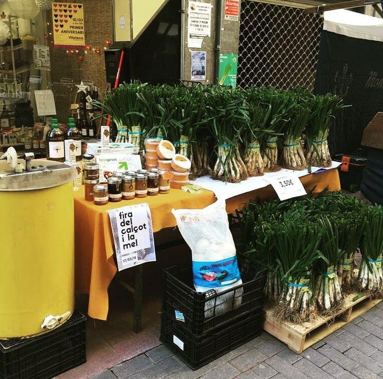 Tienda de alimentación vegana en Esparraguera