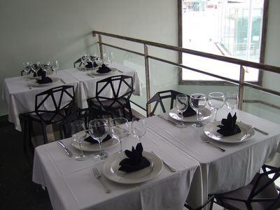 Restaurante La Arrosseria, situado en el barrio pescador de El Serrallo
