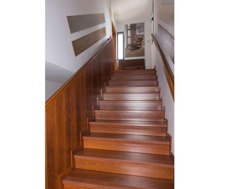 Tarimas de madera multicapa en para escaleras
