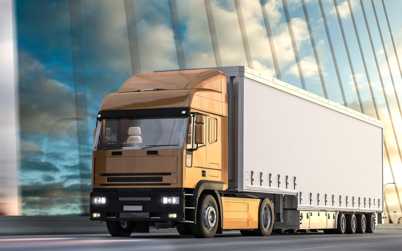Flota de camiones de diferentes capacidades