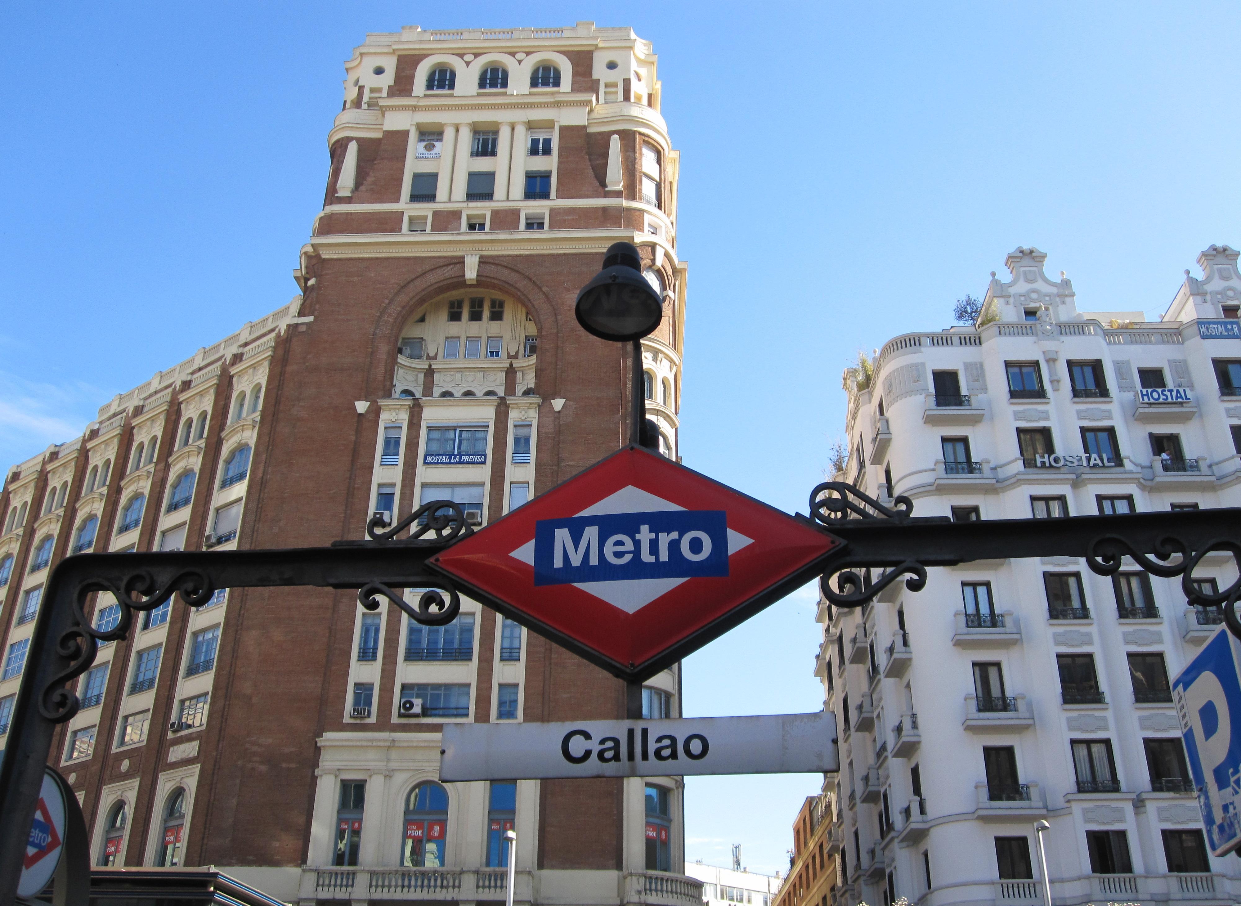 Metro Callao, Sol o Gran Vía