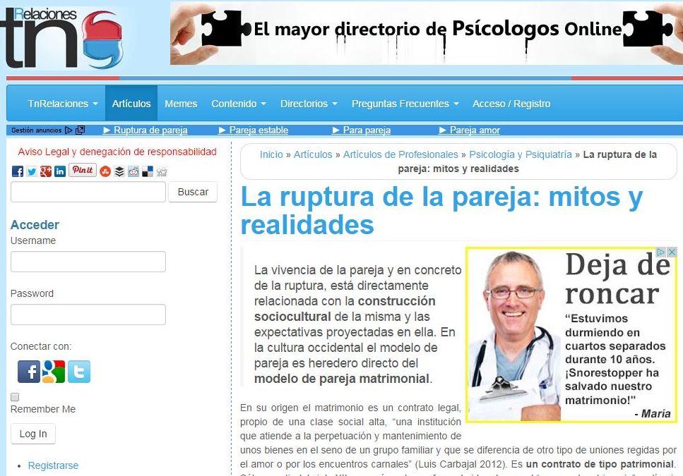 Foto 197 de Psicólogos en Madrid | Psicólogo Juan Macías