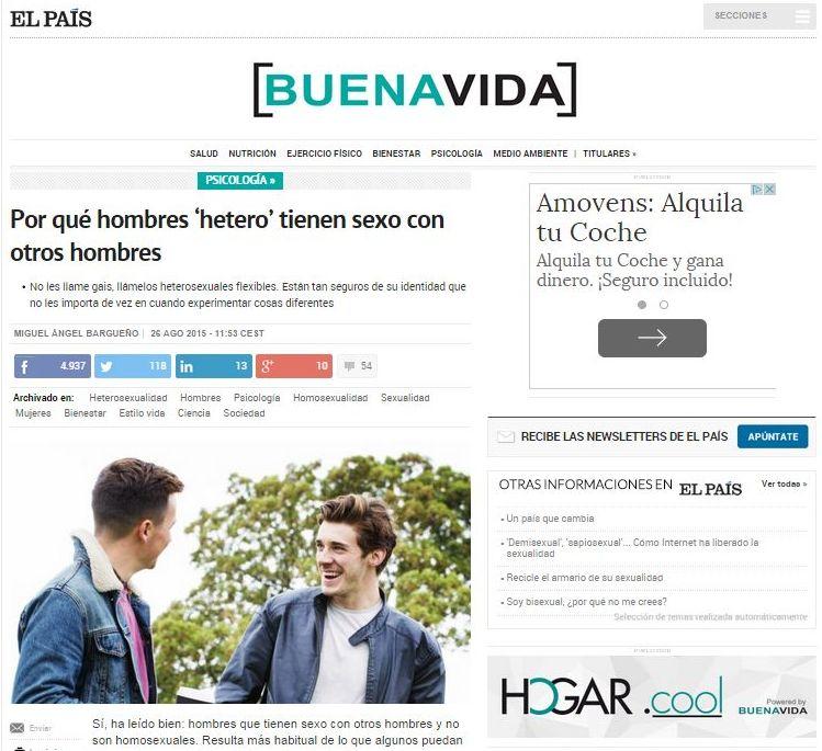Nueva colaboración en El País