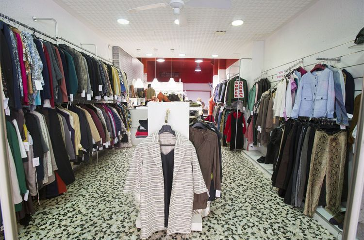 Interior de nuestra tienda de ropa de marca en Zaragoza