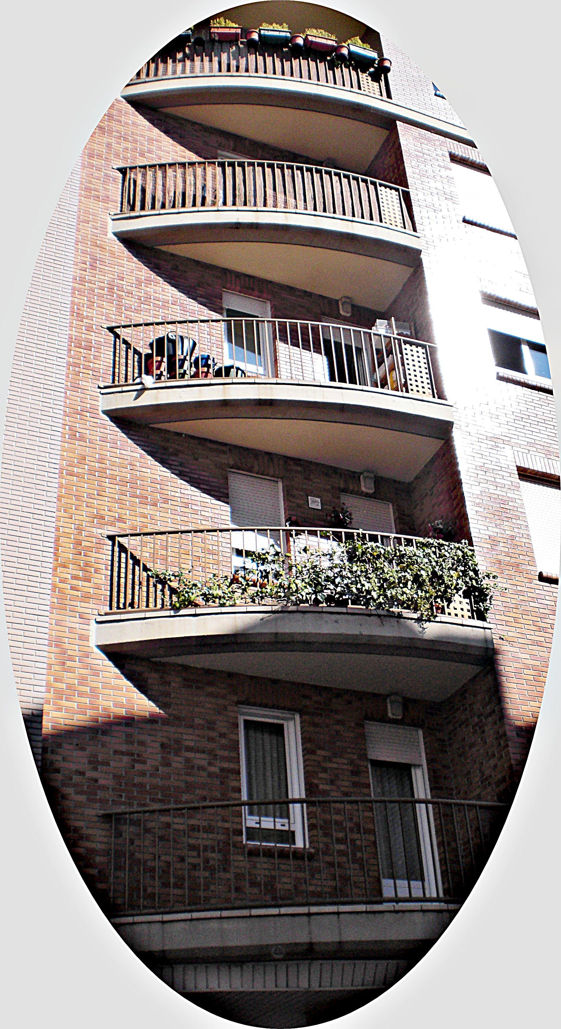 Barandillas metálicas para balcones