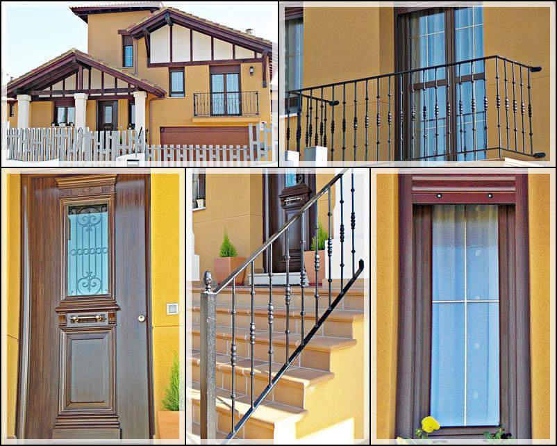 Ventanas, puertas, barandillas metálicas en León