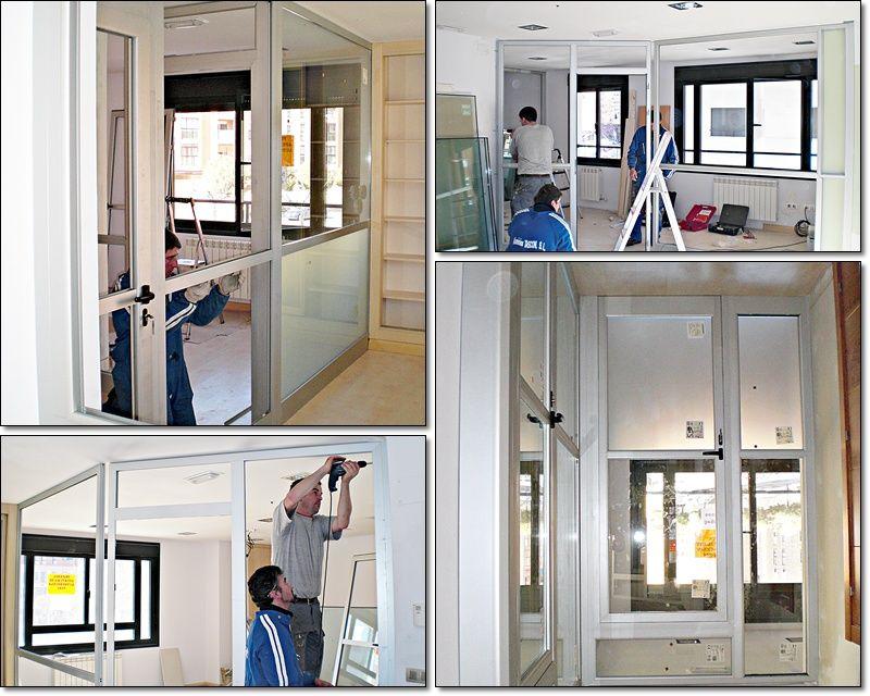 Instalaciones con carpintería metálica