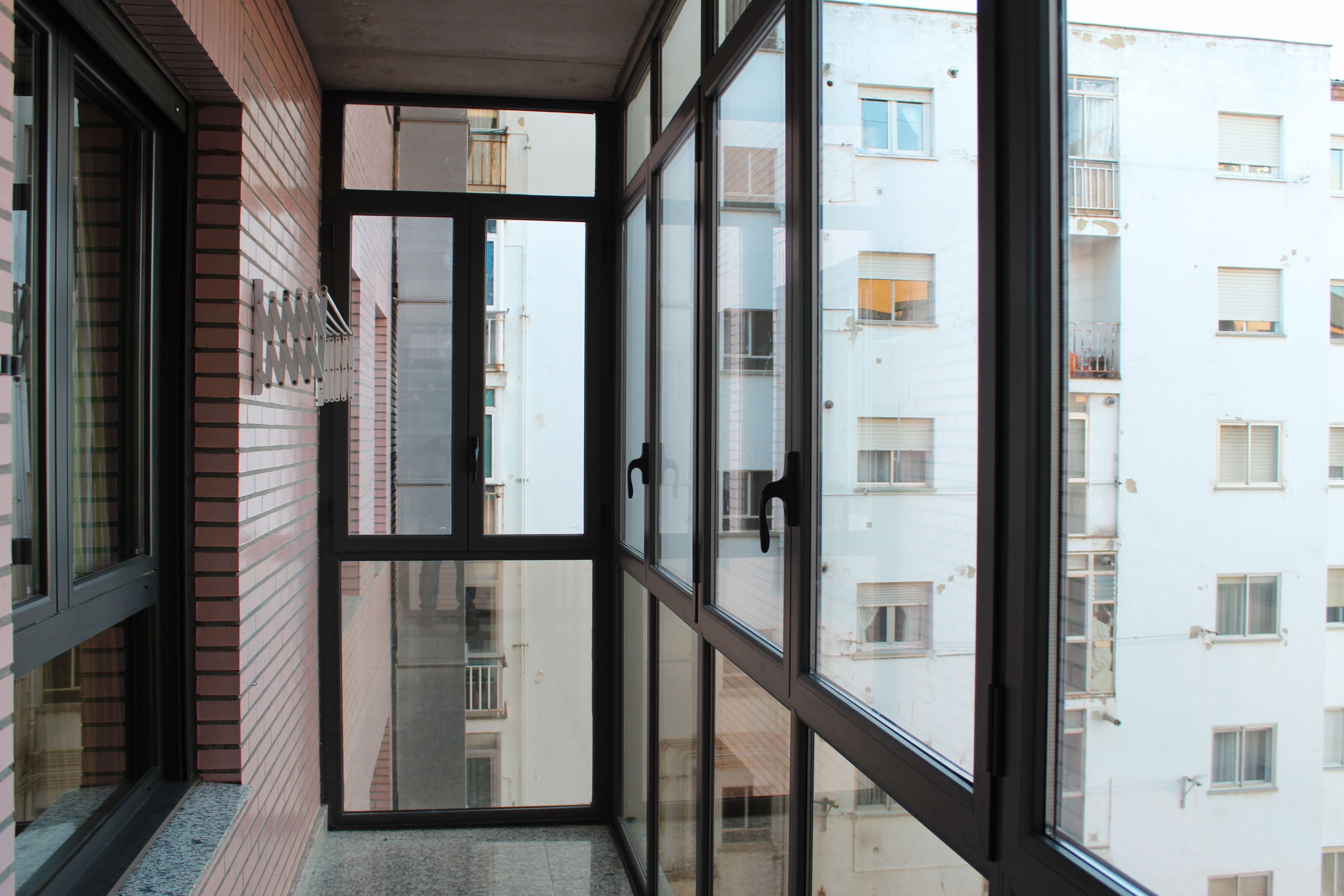 Cerramiento de terrazas en León