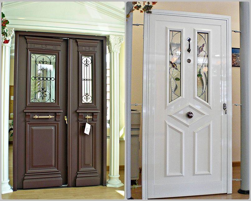 Puertas de exterior en diferentes modelos y materiales en León