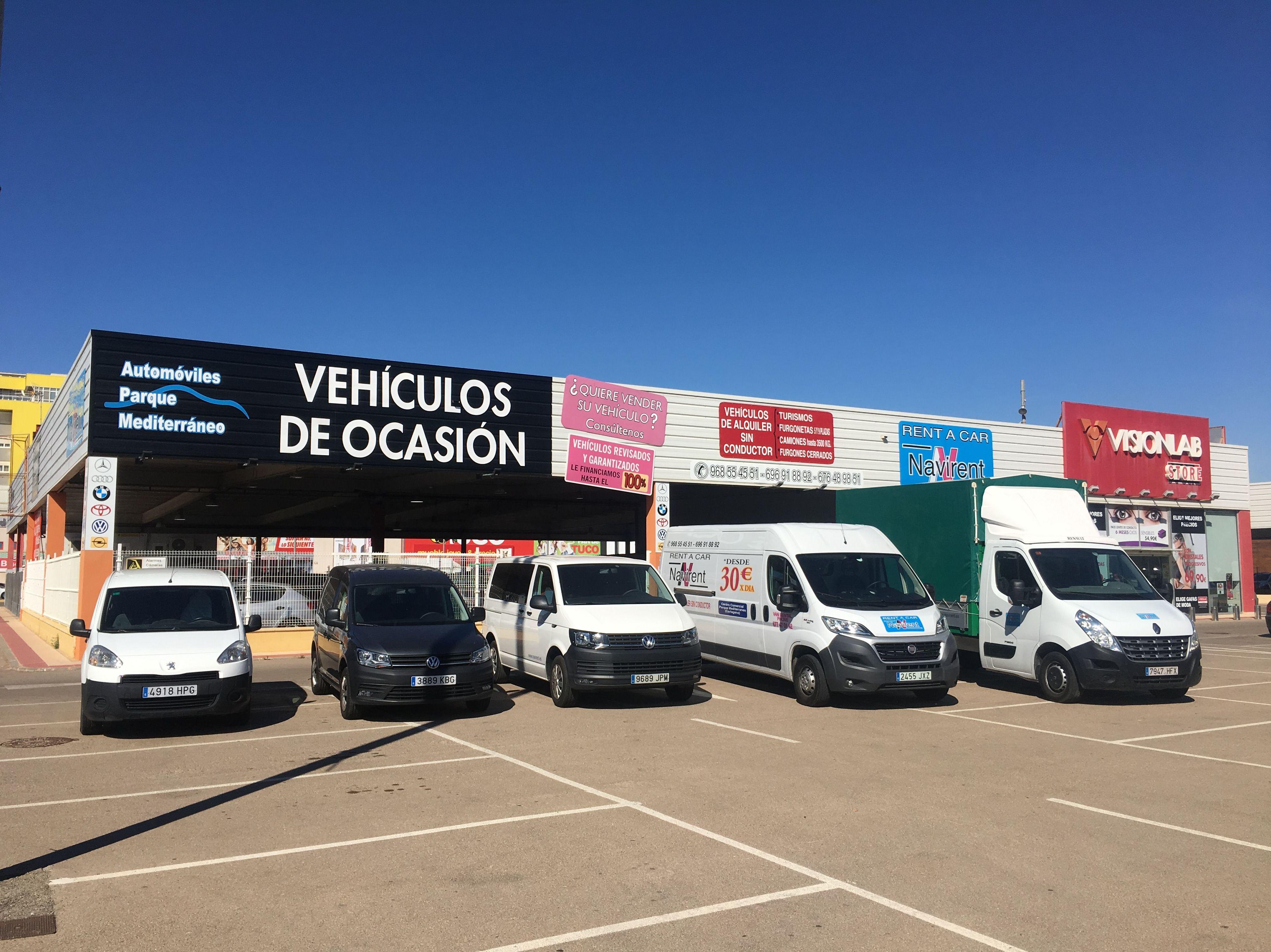 Foto 2 de Alquiler de coches y furgonetas en Cartagena | Automóviles Parque Mediterráneo