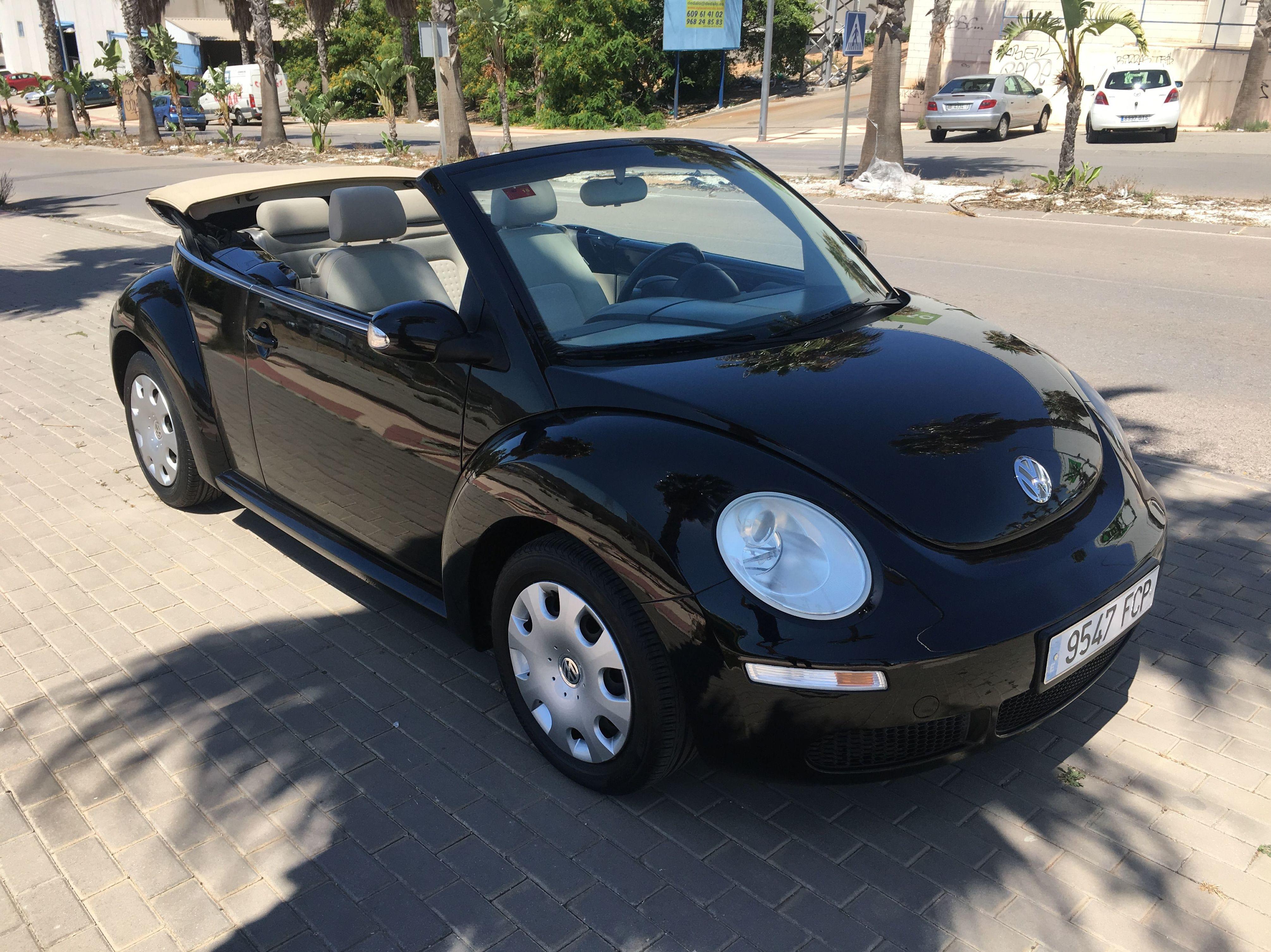 V.W. BEETLE CABRIO: COCHES DE OCASION de Navirent-Automóviles Parque Mediterráneo