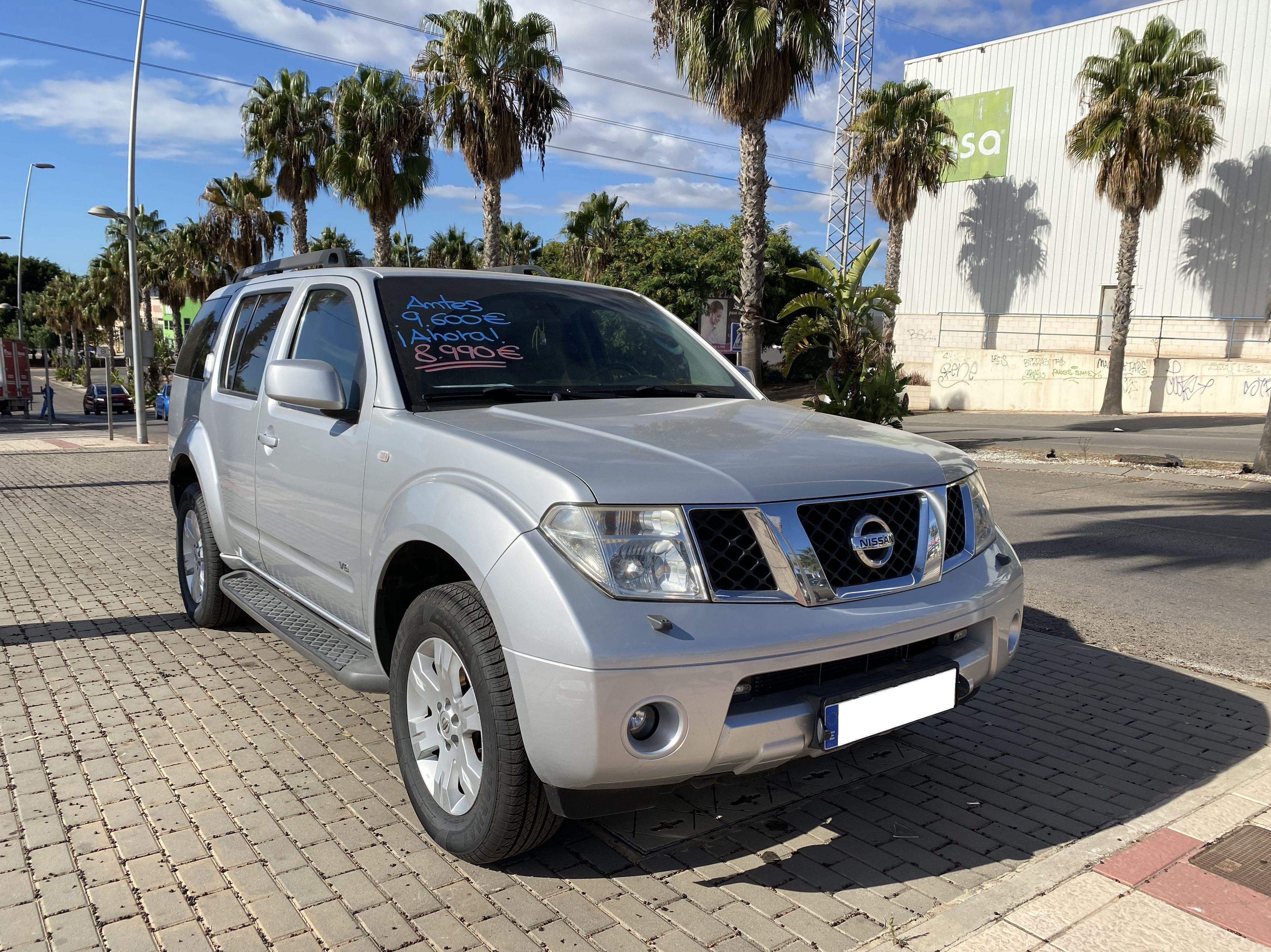 NISSAN PATHFINDER: COCHES DE OCASION de Automóviles Parque Mediterráneo