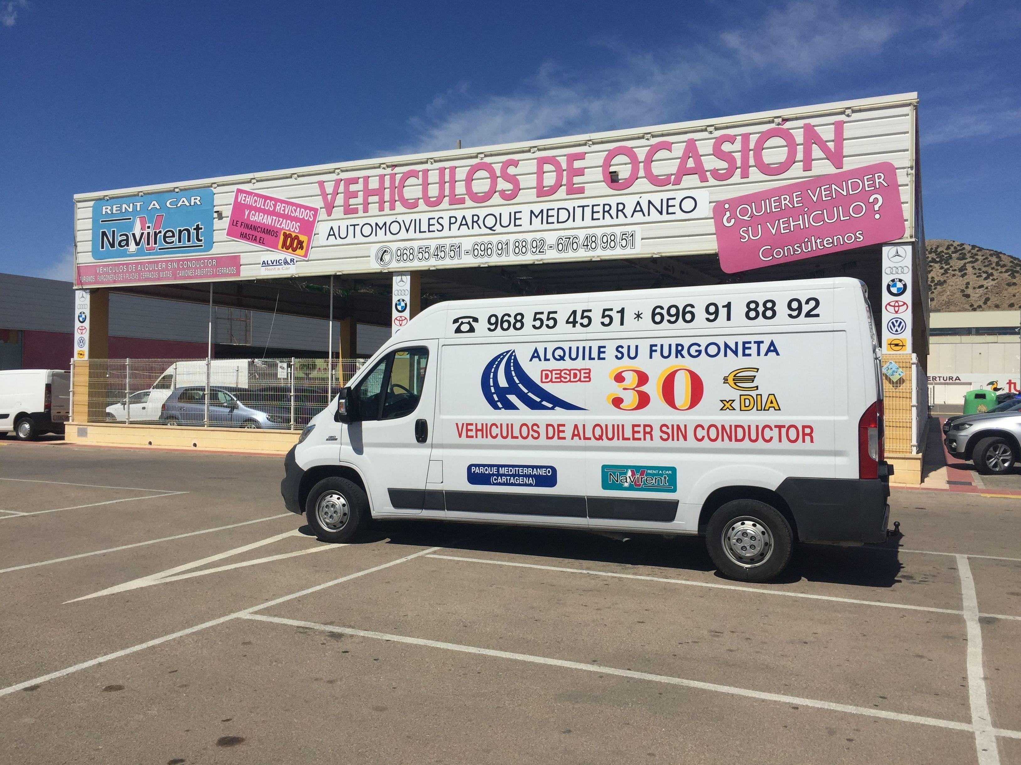 Foto 3 de Alquiler de coches y furgonetas en Cartagena | Automóviles Parque Mediterráneo