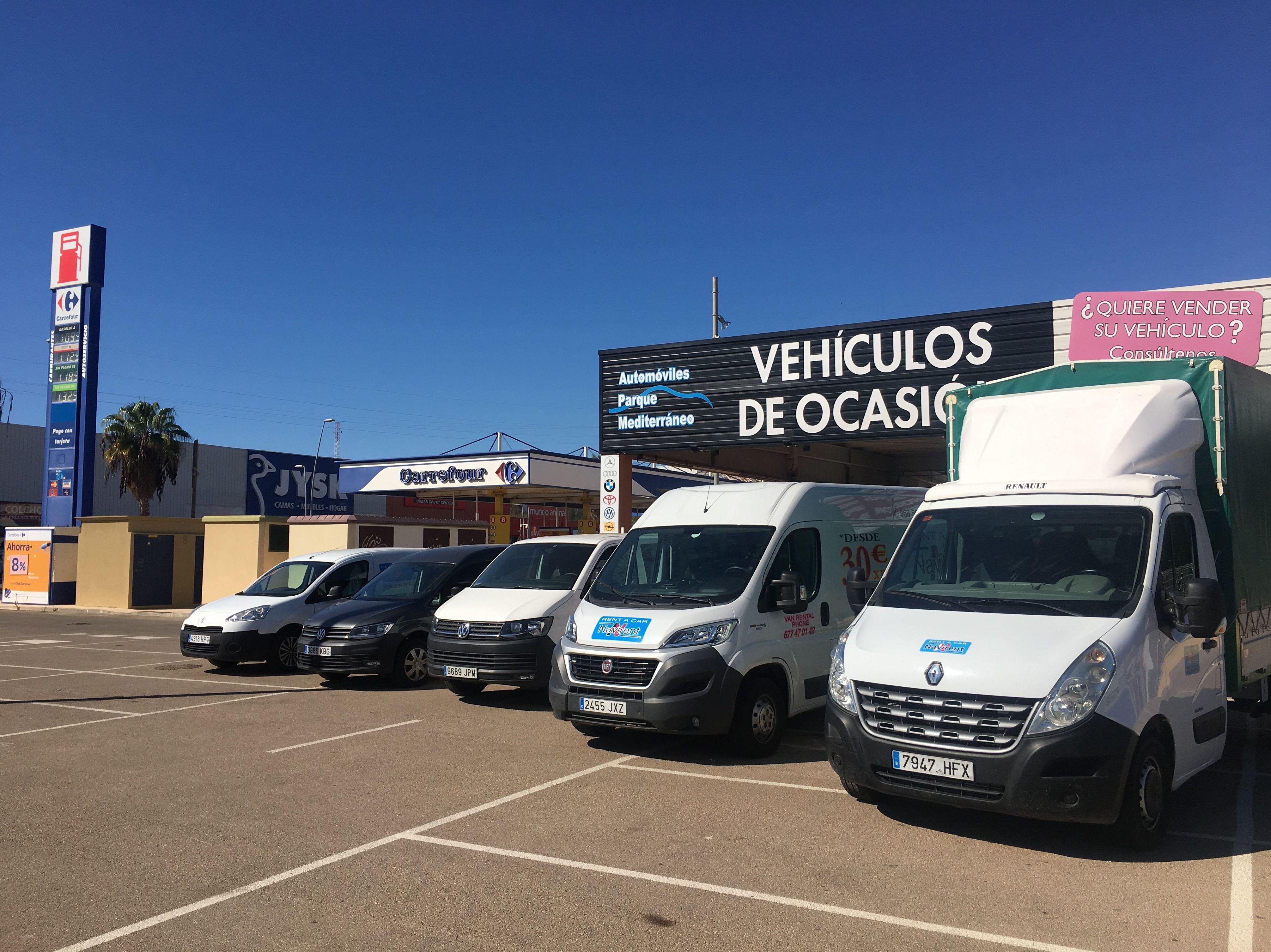 Foto 1 de Alquiler de coches y furgonetas en Cartagena | Automóviles Parque Mediterráneo