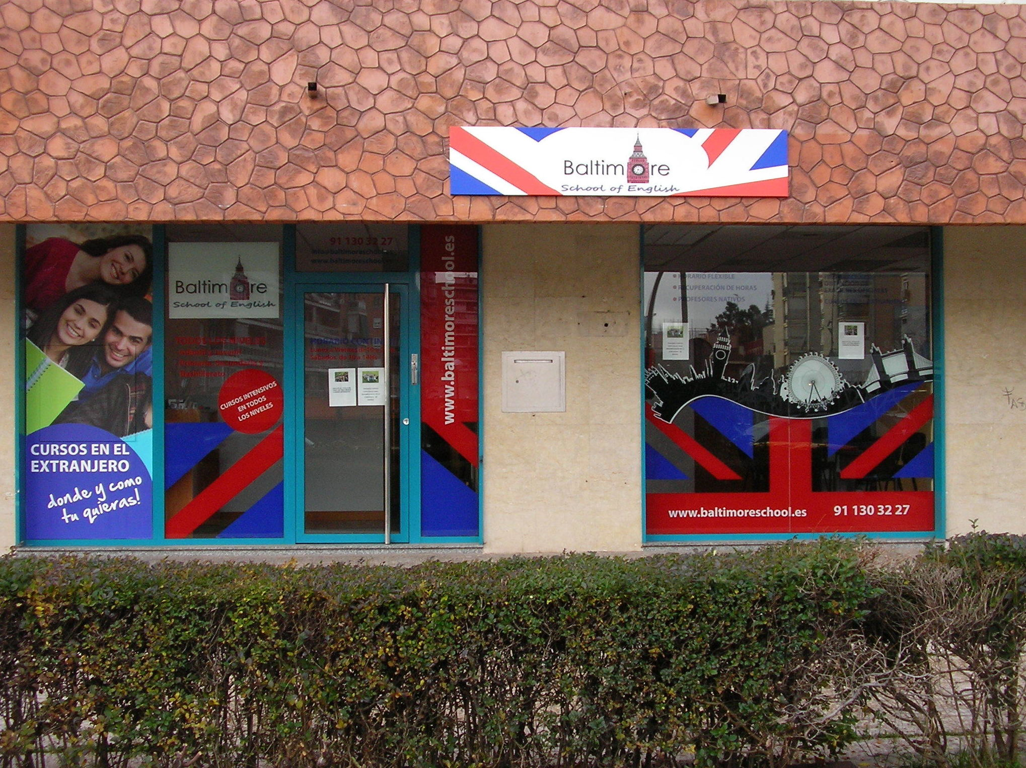 Baltimore School of English en Av. de Padre Piquer, 14 (Madrid)