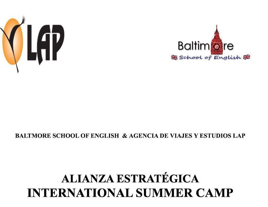 ALIANZA BALTMORE SCHOOL OF ENGLISH & AGENCIA DE VIAJES Y ESTUDIOS LAP
