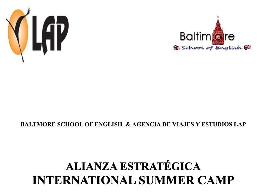 ALIANZA BALTMORE SCHOOL OF ENGLISH & AGENCIA DE VIAJES Y ESTUDIOS LAP