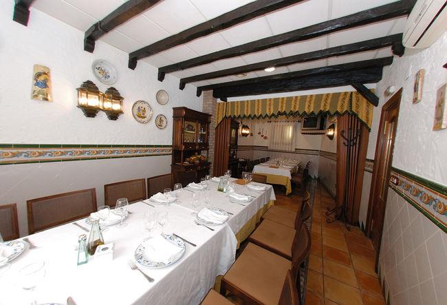Restaurante : Hotel - Restaurante de La Orza de Ángel - Hotel Restaurante