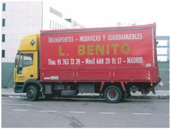 Foto 4 de Mudanzas y guardamuebles en Madrid | Transportes Y  Mudanzas Javier Benito