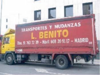 Foto 7 de Mudanzas y guardamuebles en Madrid | Transportes Y  Mudanzas Javier Benito