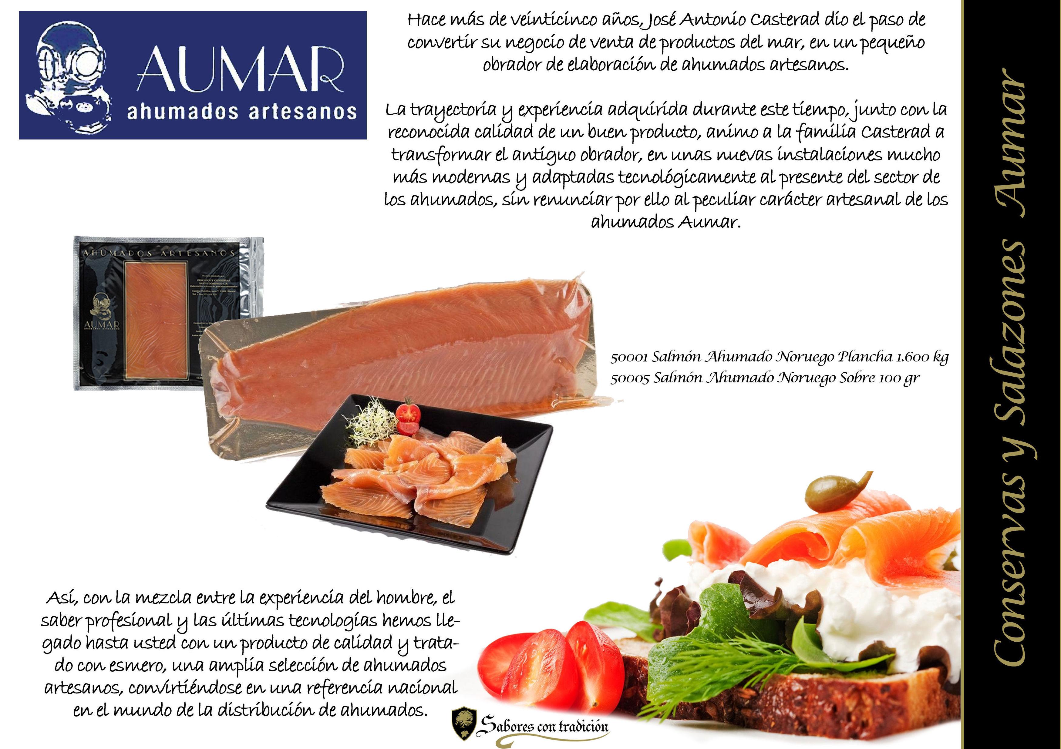 """Conservas y Salazones """"Aumar"""": Productos de Sabores con tradición"""