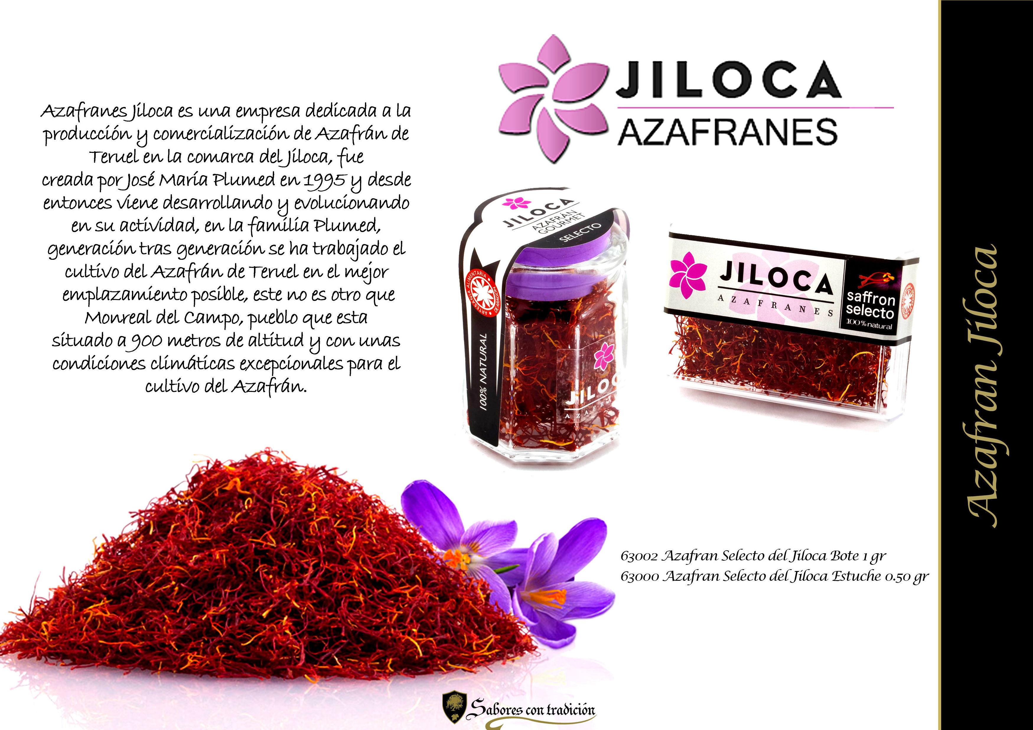 Azafrán Jiloca: Productos de Sabores con tradición